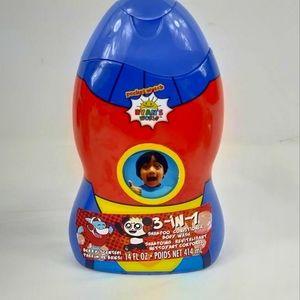 Ryan 3 in 1 Kids Shampoo Conditioner Body Wash